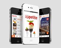 Appetite Magazine Iphone App