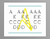 ARCD / typeface