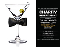 The Hollywood Sunset Free Clinic charity night, Nov 4