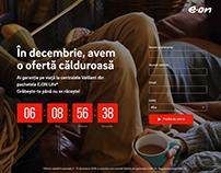 Marketing promotion - Landing Page