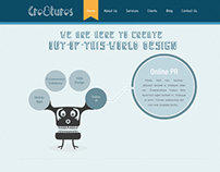 Cre8tures web design