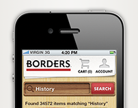 Mobile BORDERS Online Store