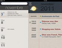 iPad agenda