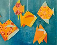 """Picture Book """"Comme un poisson dans l'eau"""""""