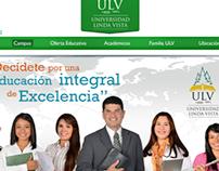 Rediseño página web ULV
