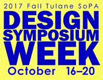 Graphic Design II - Lecture Series Poster Design