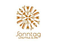 Sonntag lifestyle & spa | Wort- Bildmarke | Branding