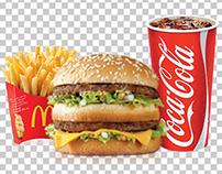Visa McDonald's
