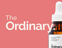The Ordinary – Redesign concept