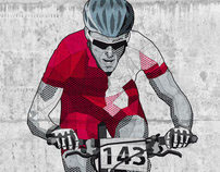 Illustration »Grazer Bike-Marathon Stattegg«