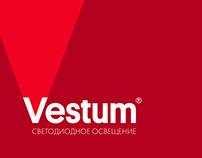 Vestum™ branding