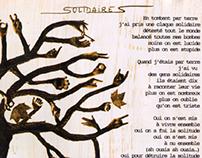 """ARTWORK  CD / VINYL       """"Jouer dehors"""" Mademoiselle K"""