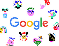 Google Allo Stickers