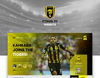 ittihad. fc website Redesign
