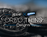 Mccafe X Oreo Project