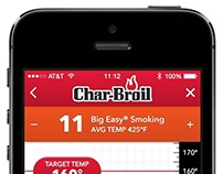 Char-Broil Grill App Concept
