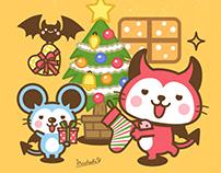 """Devils Cat""""Devi neko-kun"""" 2"""