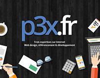p3x création de site Web
