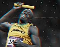 Usain Bolt - infography