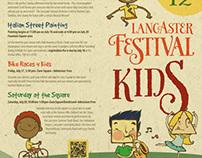 Lancaster Festival Kids Brochure