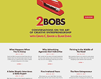 2Bobs Podcast, Logo, and Website