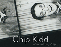 Chip Kidd: all that and a bag of chip