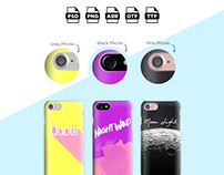 Download Mockup Phone Cases + Extra Packs
