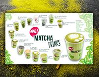 Oh Matcha Brand Design