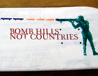 Bomb Hills Not Countries.