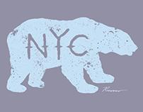 Polar Bear NYC - Print & Graphic Tee