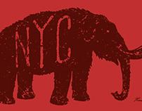 Mastodon NYC - Print