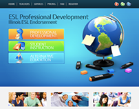 Professional Development Website