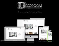 Decoroom - web design