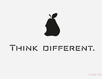 Red Thinker -Techno fonts-