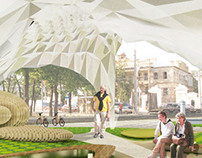 project of regeneration Mukomolniy Square