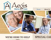 Aegis Home Care Website