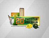 T 20 Pakistan/Australia series 2012 logo