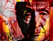 Georgia O'Keefe Collages