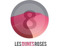Logotype LES DUNES ROSES