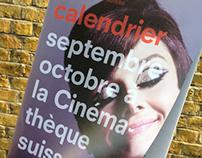 Cinémathèque suisse programme and calendar