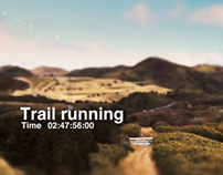 Trail Running in Ashino-ko