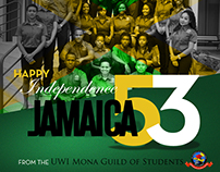 UWI Mona Guild Jamaica 53rd Independence Day Post