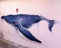 Whale love | Mural