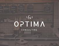 F&B Optima Logo Design