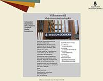 Website: Majornas missionskyrka (2009)