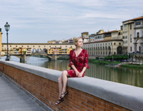 Individual Portrait photo shooting / Florence, Italy