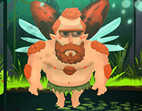 Faerio, the manly fairy