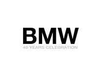 BMW 40 Celebration_concept logo