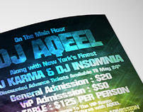 2side flyer - Desiparty.com - DJ AQEEL