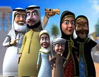 Arabic Cartoon Series. HERITAGE